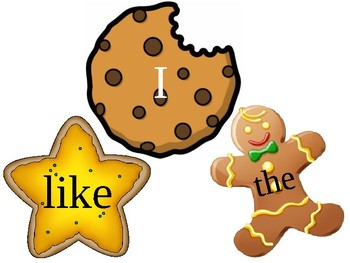 Sight Word Cookie Activity