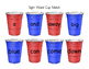 Sight Word Cups Literacy Center! Pre-Primer