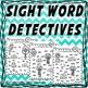 Sight Word Detective - sample freebie