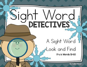 Sight Word Detectives 6