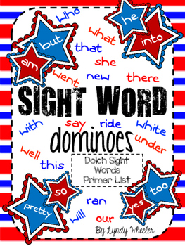 Sight Word Dominoes {Dolch Primer List}
