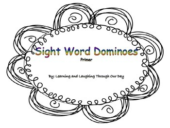 Sight Word Dominoes Primer