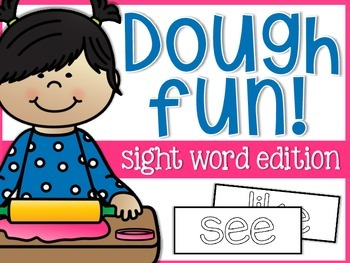 Sight Word Dough Fun Mats