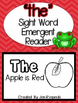 Sight Word Emergent Reader-THE