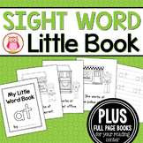 Sight Word Emergent Reader for the SIght Word at