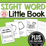 Sight Word Emergent Reader for the Sight Word Have