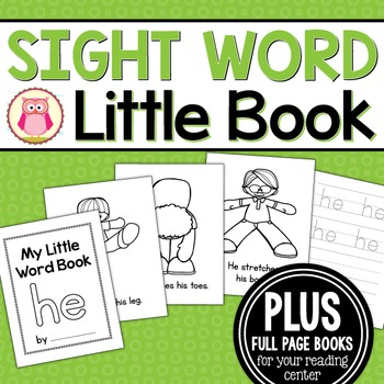 Sight Word Emergent Reader for the Sight Word He