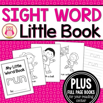 Sight Word Emergent Reader for the Sight Word Run