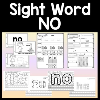 Sight Word FIND {2 Sight Word Books and 4 Worksheets!}