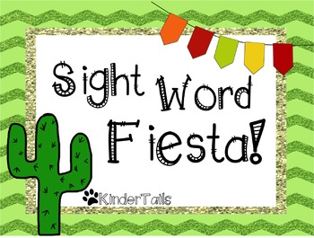 Sight Word Fiesta!