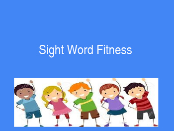 Sight Word Fitness