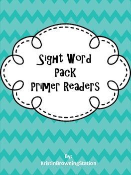 Sight Word Flash Card Readers: Primer Words
