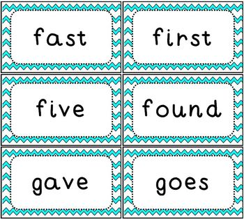 Sight Word Flash Cards Dolch 2nd Grade Set