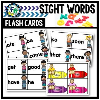 Sight Word Flashcards (Kindergarten Dolch List)
