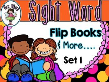 Sight Word Flip Book  {Turn & Learn} SET 1 (USA)