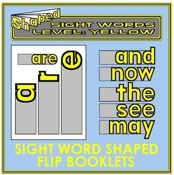 Sight Word Flip Books: YELLOW LEVEL