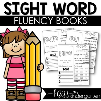 Sight Word Fluency Books {UPDATED!}