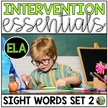 Sight Word Fluency Essentials #2: Intervention and Small G