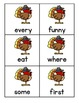 Sight Word Fluency - Fall/Winter Holidays Pack