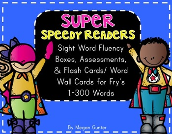 Sight Word Fluency {Fry's 1-300}