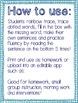 Sight Word Fluency GROWING BUNDLE!
