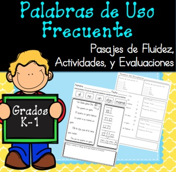 Palabras de Uso Frecuente, Assessments, Activities / Sight