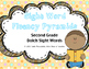 Sight Word Fluency Pyramid Task Cards {Second Grade Dolch