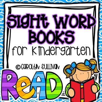 Sight Word Foldable Books for Beginning Readers