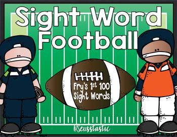 Sight Word Football (Fry's 1st 100)