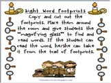 Sight Word Footprints