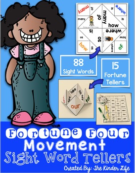 Sight Word Fortune Tellers & Game Boards: 88 Sight Words--
