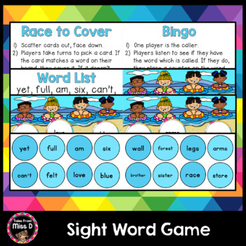 Sight Word Game