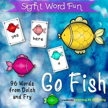 Sight Word Game: Go Fish!