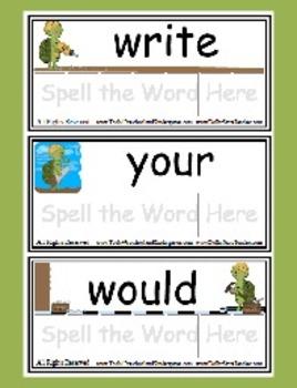 Sight Word Game Level 4 - Toolin' Turtles - Reading Litera