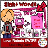 Sight Word Game – Love Robots SWIPE Game
