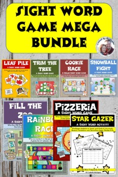 Sight Word Game MEGA BUNDLE