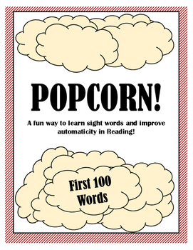 Sight Word Game - POPCORN!