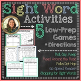 Sight Word / Word Work Games & Activities {by Tanya Rae Designs}