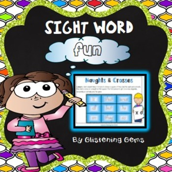 Sight Word Game- Naughts and Crosses