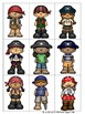 Sight Word Games in French with a Pirate Theme