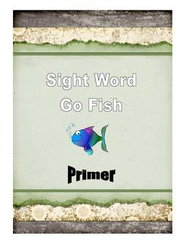 Sight Word Go Fish: Primer