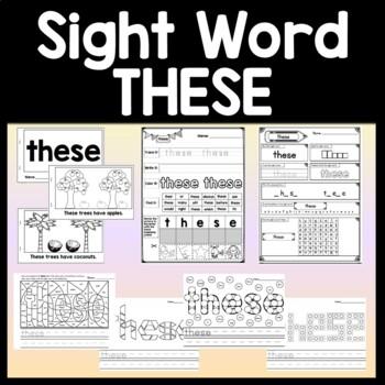 Sight Word IS | 2 Sight Word IS Books | 2 Sight Word IS Pr
