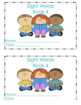 Sight Word Individual Book 4