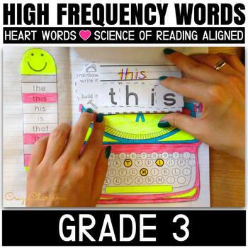 Sight Word Interactive Notebook (Grade 3)