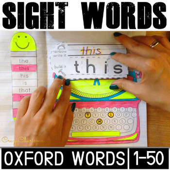 Oxford Words Interactive Notebook (1-50)