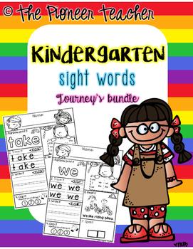 Sight Word Journey's Bundle {FREEBIE}
