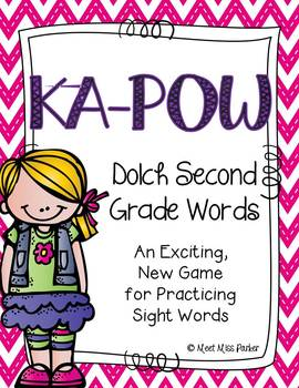 Sight Word Kapow - SECOND GRADE - Learning Sight Words in