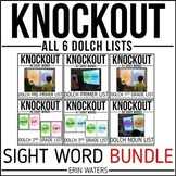 Sight Word Knockout {BUNDLE}