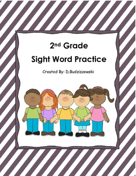 Sight Word Letter Cards