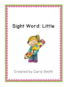 Sight Word: Little